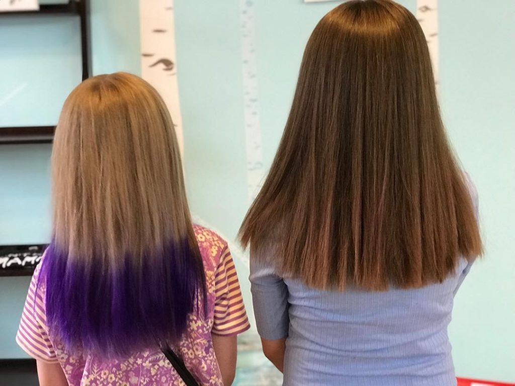 Kids Hair Color Services