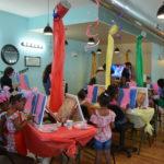 Trolls Juice & Paint Party